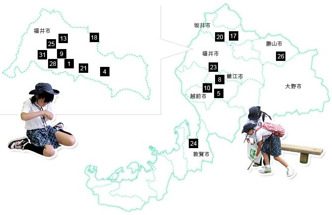 img map 県内の各団紹介