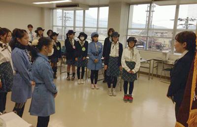 131110 1 J6 (6年生のつどい)が敦賀で開催されました