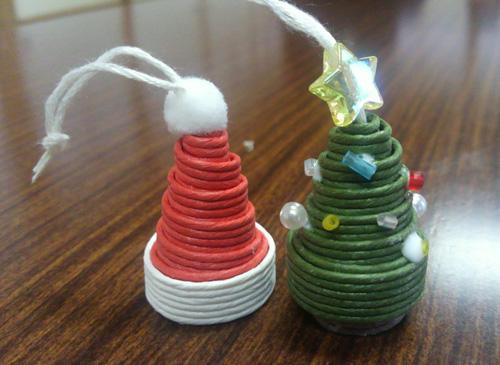 クリスマスツリー&サンタ帽