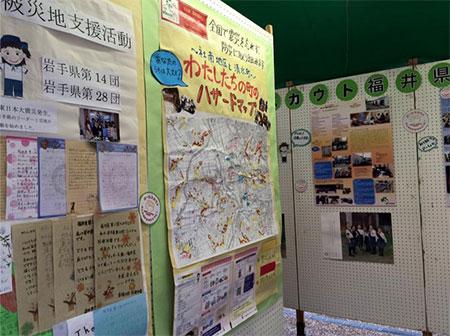 150906 09 まちフェスにて福島復興の浪江焼きそばチャリティーを開催しました