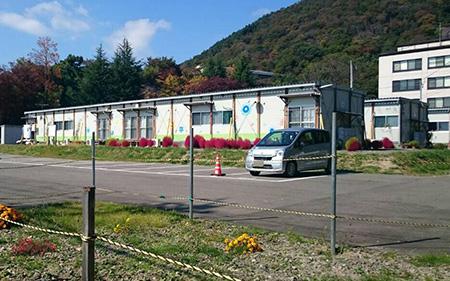 151018 6 福島県連盟に訪問してまちフェスでの支援金を届けました