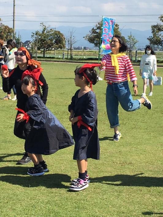 IMG 1754 2016 ブラウニーラリー「妖精たちのハロウイン運動会」が開催されました