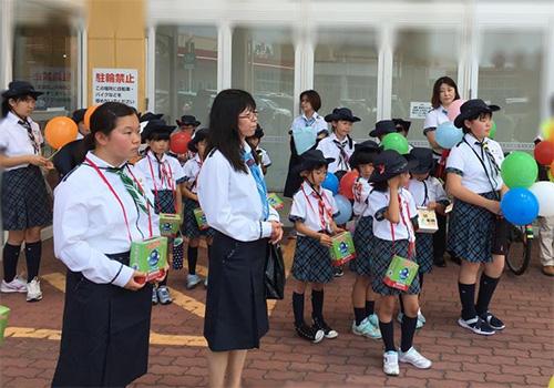 20170624 1 「ダメ、ゼッタイ」普及運動に伴うヤング街頭キャンペーン