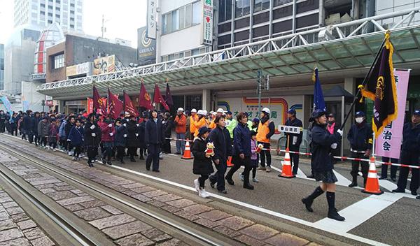 0113 01 福井市の出初式に参加しました